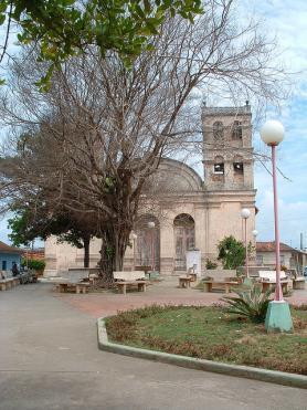 Provincie Guantánamo - náměstí města Baracoa