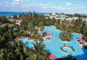 Kubánský hotel Barcelo Solymar Arenas Blancas s bazénem