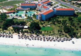 Kubánský hotel Barcelo Solymar Arenas Blancas s pláží