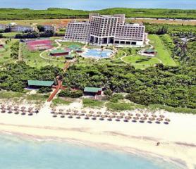 Pláž u hotelu Blau Varadero, Kuba