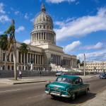 Budova Kapitolu ve městě Havana, Kuba